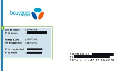 Comprendre Votre Facture Mobile Et Bbox Assistance Bouygues Telecom